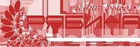 Логотип фабрики мебели Рябина мебель